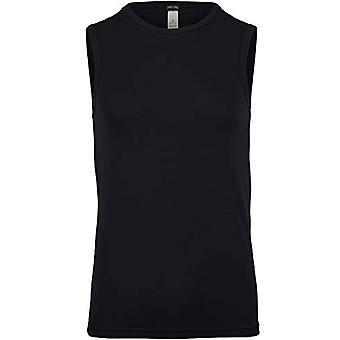 Hom Supreme Cotton Shirt (Sans Manche) Shirt, Black (Noir 0004), Large Man