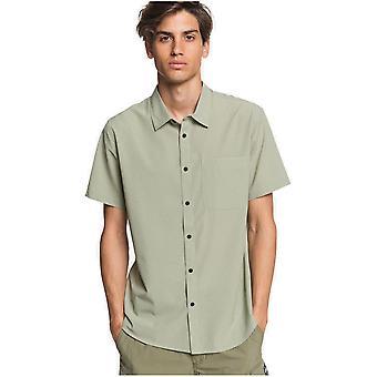 Quiksilver Tech Tides Kortärmad skjorta i sjögräs