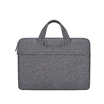 15.4Inch 38*27*3cm dark gray waterproof and wear-resistant laptop bag, 15.6inch for apple macbook, huawei, lenovo az20095