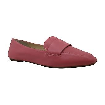 Enzo Angiolini Womens Leann Leather Closed Toe Loafers