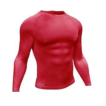 "Precision Essential Baselayer Långärmad Skjorta Vuxen Liten 34-36"" Röd"