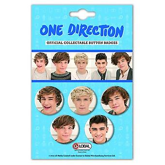 One Direction - Phase 4 Button Badge Pack