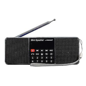 L-288 AMBT bluetooth hordozható LCD FM/AM rádió sztereó hangszóró MP3 Music Player Micro SD USB