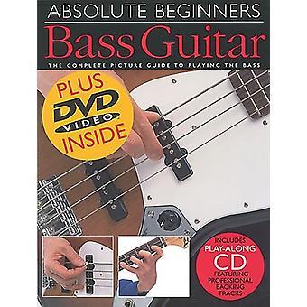 Absolute Anfänger: Bassgitarrennoten, CD, DVD