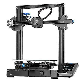 CREALITY 3D Printer Ender-3 V2 met TMC2208 Stepper Drivers Nieuwe UI&4.3 Inch Kleuren LCD met 1m