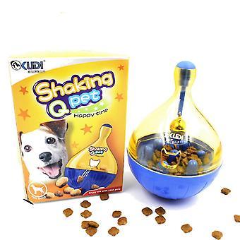 猫のためのタンブラーおもちゃインタラクティブディスペンサー食品を扱う