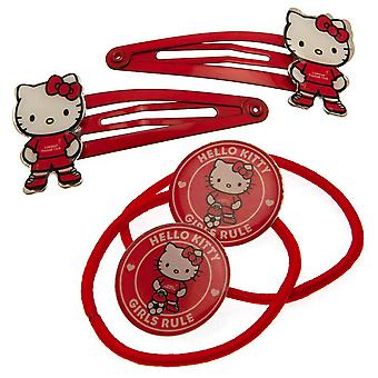 Liverpool FC Piger Hello Kitty Hår Slips Set