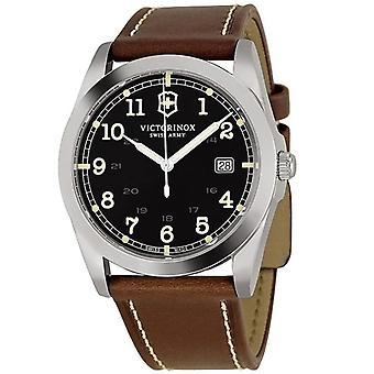 Victorinox Men's Infanty Black Dial Watch - 241563