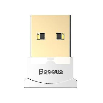 USB Bluetooth 4.0 adapter, Bluetooth receiver,Bluetooth signal converter transmitter(White)