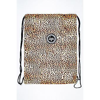 Hype Леопард Drawstring Сумка
