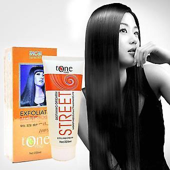 Prostownice do włosów pasty do włosów krem prostujący z zabiegiem keratynowym profesjonalny relaksator do włosów