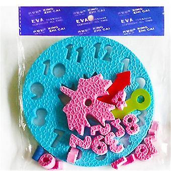 Diy Manual Eva Clock Teaching-educational Toy