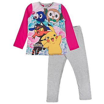 Ensemble de pyjama des personnages de Pokemon Girls