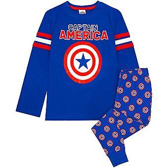 Amerika Kapitány Boys Shield hosszú pizsama készlet
