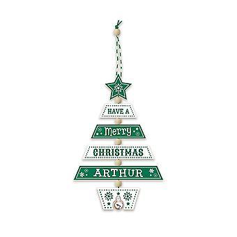 Geschichte & Heraldik Weihnachtsbaumschmuck - Arthur 269800130 Holz handgefertigt