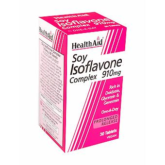 Health Aid Soya Isoflavone Complex 910mg, 30 Tablets