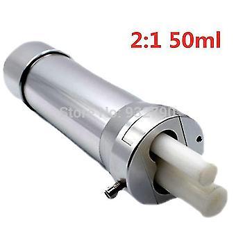1:1 2:1 10:1 50Ml 2-delig lucht ab lijmpistool pneumatisch caulking pistool 1-delig 330ml siliconen kitpistool