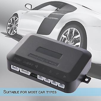 LED Parksensor Kit 4 Sensoren Fahrzeug Auto Rückwärtsradarsystem Neu