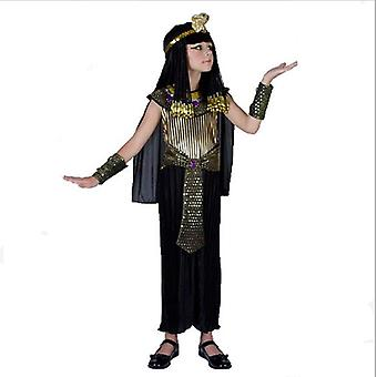Egyptský faraón kráľovnej dospelý pánske a dámske detské kostýmy Halloween kostýmy staroveké rímske kostýmy