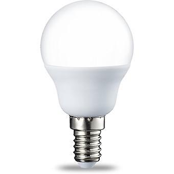 Kleine kugelförmige LED-Lampe E14 P45 mit Schraubsockel, 5,5 W (entspricht einer 40 W Glühlampe), warmweiß