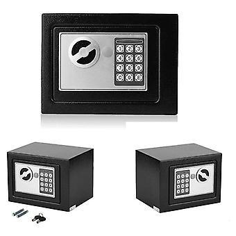 Digital Safe Box With Electronic Lock Key Safe Steel