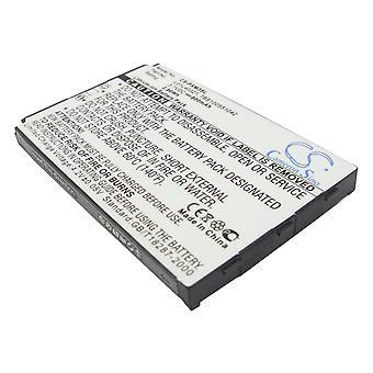 Battery for Pioneer GEX-XMP3 XMP3H1 XMP3i Sirius L01L40321 XM-6900-0004-00 800mA