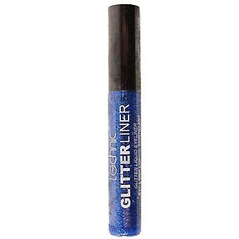 Technic Glitter Eyeliner blå