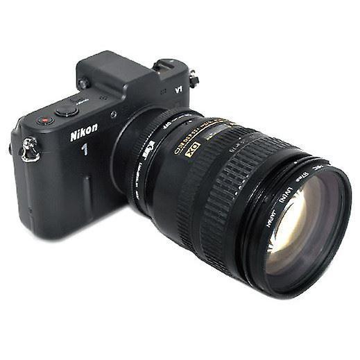 Kiwifotos lente adattatore di montaggio con anello di controllo di apertura: permette di Nikon G tipo lenti per essere utilizzato su qualsiasi fotocamera mirrorless Nikon 1 serie