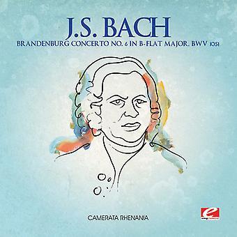 J.S. Bach - J.S. Bach: Brandenburg Concerto No. 6 en B plano mayor, importación de Estados Unidos Bwv 1051 [CD]