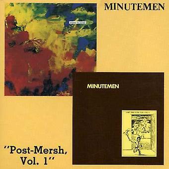 Minutemen - Post-Mersh No. 1 [CD] USA import