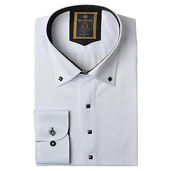 Oscar Banks Classic Collar Mens Shirt