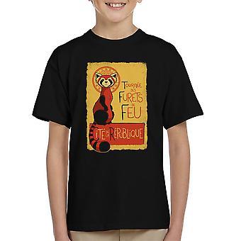 Les Furets de Feu Legend Of Korra Kid's T-Shirt