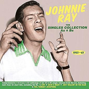 Johnnie Ray - Singles Collection som & Bs 1951-61 [CD] USA import