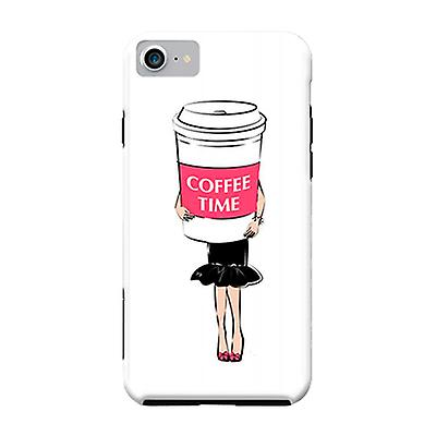 ArtsCase Designers Cases Coffee Time for Tough iPhone 8 / iPhone 7