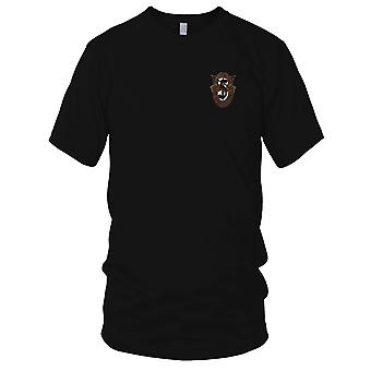 US Army - 5: e Special Forces Group Crest OD grön broderad Patch - Mens T Shirt