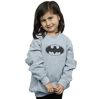DC Comics niñas Batman uno color Logo sudadera