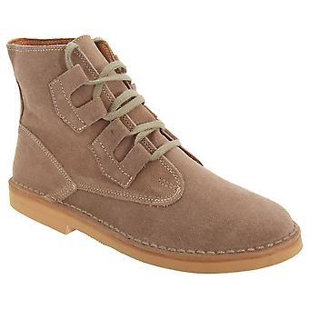 Roamers miesten Ghillie Tie Real Mokka Desert Boots