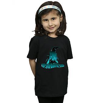 Harry Potter Girls Hogwarts Silhouette T-Shirt