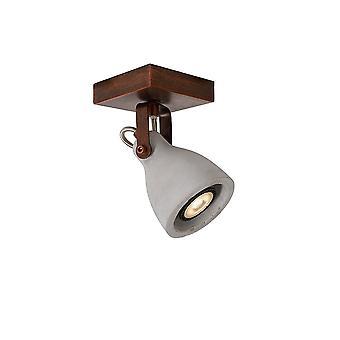 CONCRI lucide Spot LED plafonnier