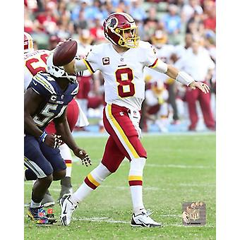 Kirk Cousins 2017 Action Photo Print