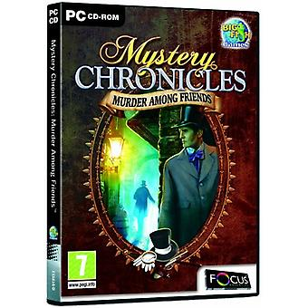 Mystery Chronicles Murder Among Friends (PC CD) - Novo