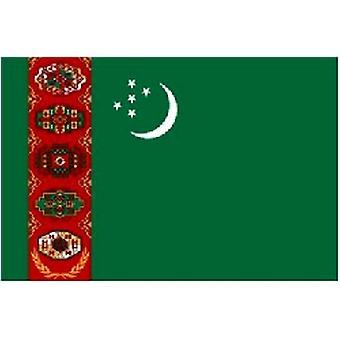 Turkmenistan vlag 5 ft x 3 ft