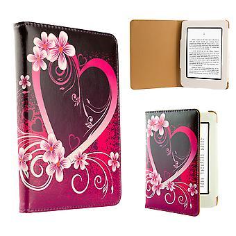 Дизайн книги чехол для Amazon Paperwhite E-Reader - любовь сердца
