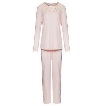 Féraud 3181312-11577 Naisten's Couture Uusi Ruusu Vaaleanpunainen Yksivärinen Pyjama Setti