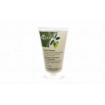 Relaxing cream for feet and heels with olive oil and Argan oil.