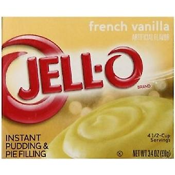 Jell-O French Vanilla Instant Pudding Dessert Mix