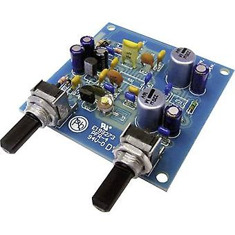 Kemo B156N FM receptor Montagem kit 9 V DC