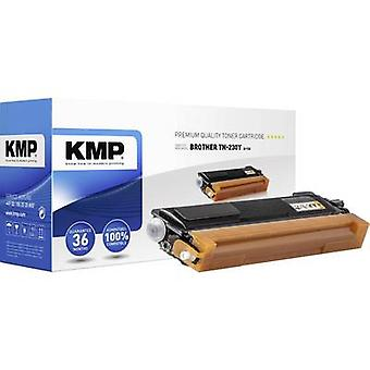 KMP Toner cartridge replaced Brother TN-230Y, TN230Y Compatible Yellow 1400 Sides B-T35