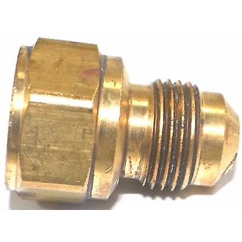 "Big A Service Line 3-146660 Brass Flare Female Connector 3/8"" x 3/8"""