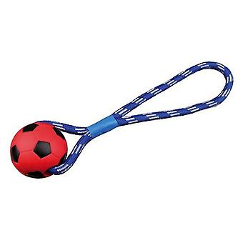 Trixie Football Ball with String (Dogs , Toys & Sport , Balls)